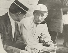 c1c531b34dc Bill Armour - Bill Armour with Ty Cobb on the 1st day Cobb played at Detroit