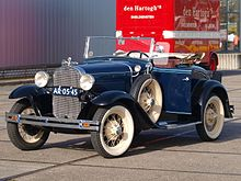 ford a cabriolet
