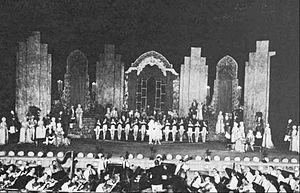 The Muny - The stage in 1932