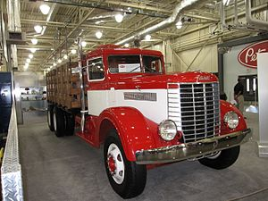 Peterbilt - A 1939 Peterbilt 334 truck, from Peterbilt's first year of production