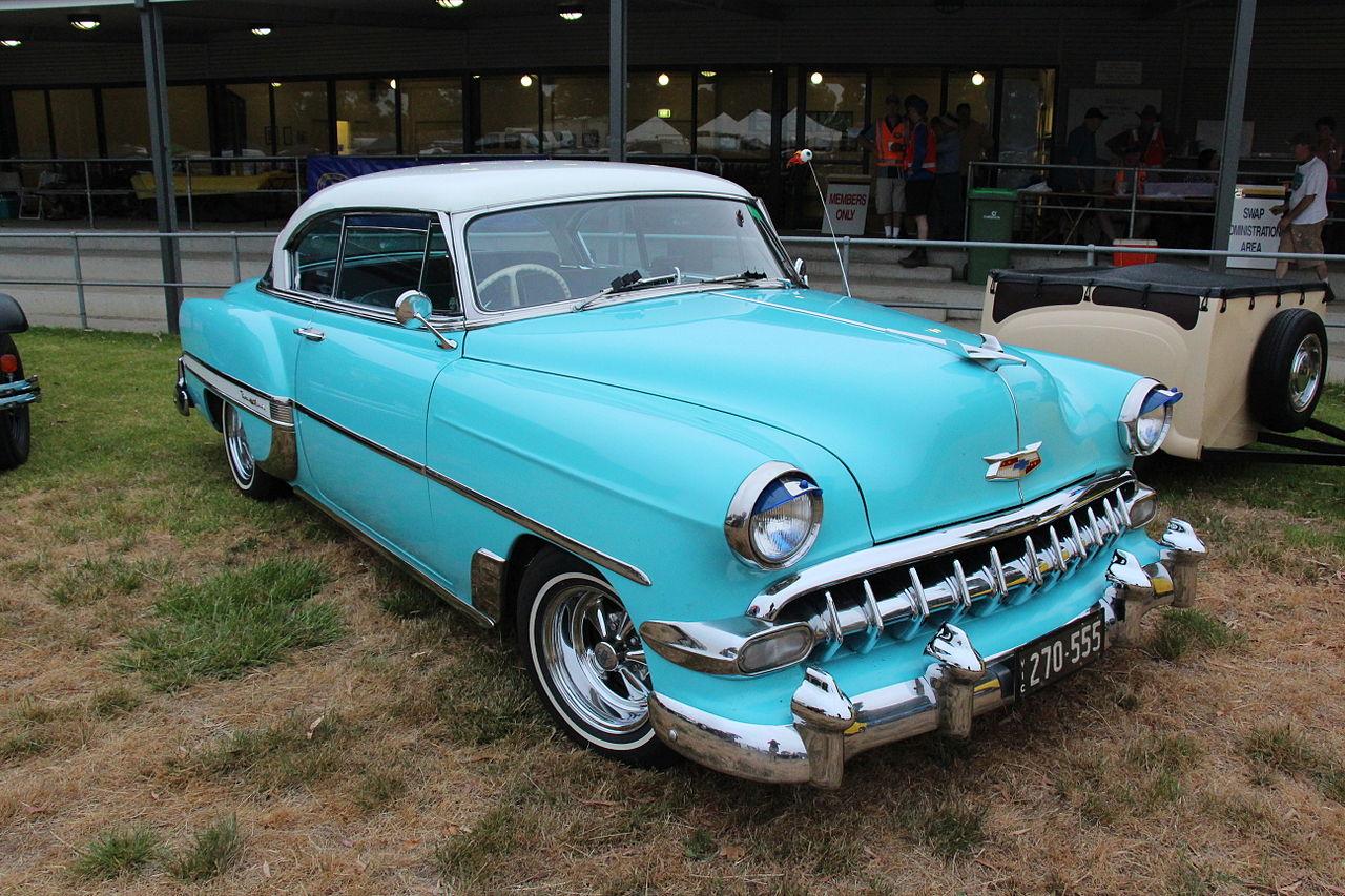 All Chevy 1954 chevrolet belair : File:1954 Chevrolet Belair 2 door Hardtop (12492941534).jpg ...