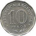 1956-1969 M 0000010-00-A 1966 Sesquicentenario de la Independencia 23mm Acero revestido en Níquel.jpg