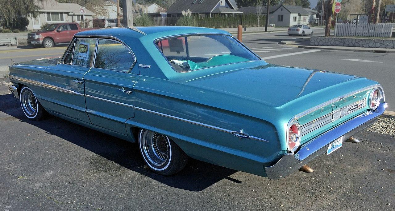File 1964 Ford Galaxie 500 Sedan  Rear Left  John Lloyd  Jpg