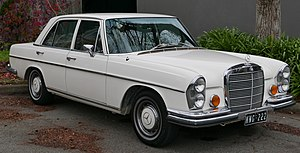 Mercedes-Benz W108 - Image: 1970 Mercedes Benz 280 SE (W 108) sedan (2015 07 09) 01