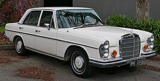 Mercedes-Benz W108/W109 Motor vehicle