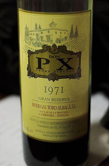 1971 Pedro Ximenez