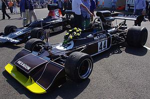 Trojan–Tauranac Racing - Image: 1973 Trojan T101 at Silverstone Classic 2012