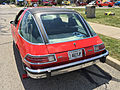 1976 AMC Pacer DL coupe in red with black at AMO 2015 meet 4of7.jpg