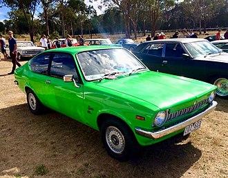 Holden Gemini - 1977 Holden Gemini TC SL coupe