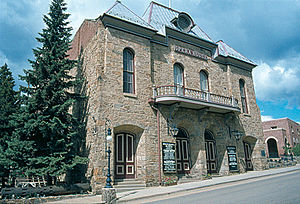 Helen Marie Black - Central City Opera House, a National Historic Landmark