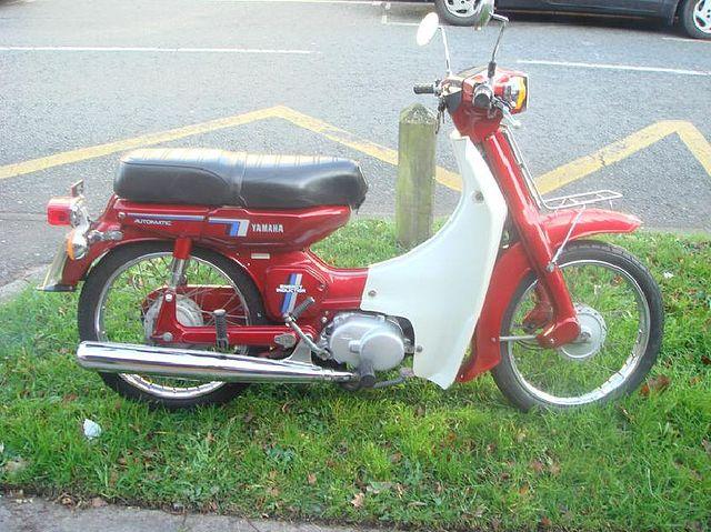 Yamaha Moped Bike