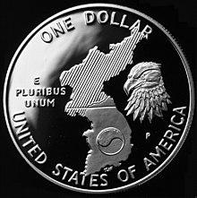 1991 Korean War-Proof Dollar (reverse).jpg
