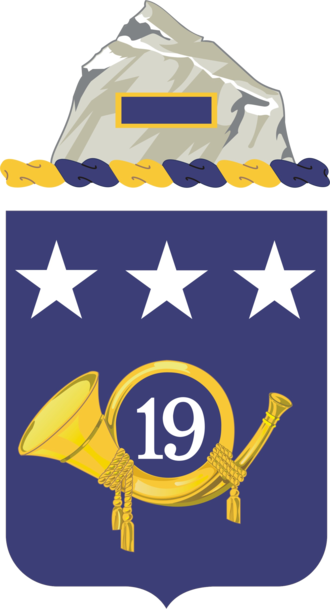 19th Infantry Regiment (United States) - Coat of arms