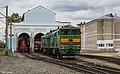2ТЭ10М-3332, Россия, Томская область, станция Томск-II (Trainpix 198228).jpg