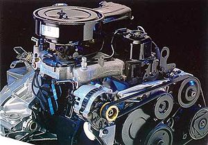 Iron Duke engine - Image: 2.5l tech 4 engine