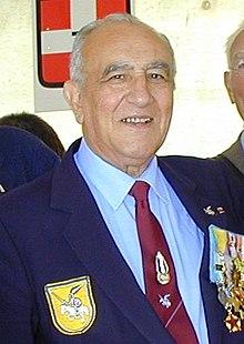 Roger Holeindre, en septembre 2001.