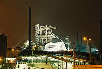 Vítkovice (Ostrava) - Blast furnaces of Vítkovice Iron and Steel Works