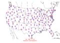 2006-01-30 Max-min Temperature Map NOAA.png