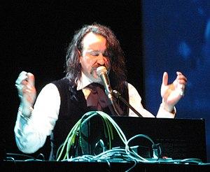Alexander Hacke - Hacke performing on May 5, 2007