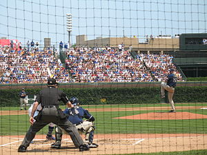 2007 San Diego Padres season - Chris Young pitching against the Cubs at Wrigley Field on June 16; he was working on a no-hitter but was later ejected from the game after he and Derrek Lee got into a fight that turned into a bench-clearing altercation.