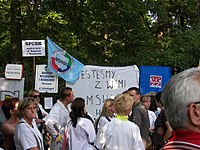 20070620 protest pielegniarek kprm 2