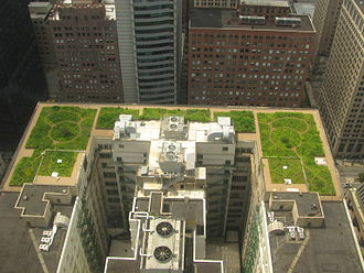 Green roof - Green roof of Chicago City Hall