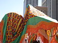 2008 Olympic Torch Relay in SF - Dragon dance 05.JPG