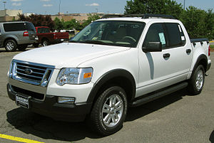 Ford Explorer Sport Trac - Image: 2009 Ford Sport Trac XLT