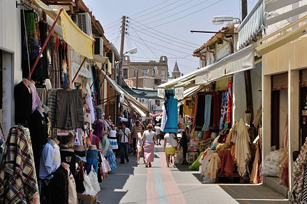 The Arasta region next to the Ledra Street checkpoint functions like a typical eastern bazaar and is popular with tourists
