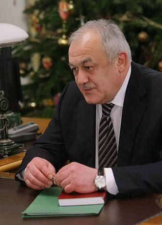 Head of the Republic of North Ossetia-Alania - Image: 2010 12 28 Taimuraz Mamsurov