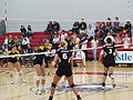 20111021 06 Kent State U vs. Northern Illinois U Volleyball, DeKalb, Illinois.jpg