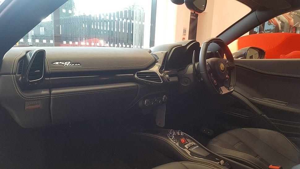 2011 Ferrari 458 Italia Interior
