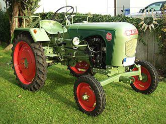 Hatz - Historical Hatz tractor model TL13