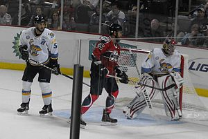 Toledo Walleye - 2012–13 home opener vs. Kalamazoo Wings.