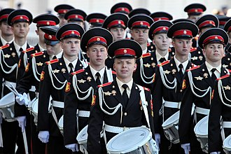 Moscow Military Music College - Image: 2013 Moscow Victory Day Parade (02)