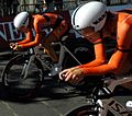 2013 UCI Road World Championships – Women's team time trial (8).JPG