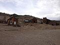 2014-07-28 13 34 42 Buildings in Berlin, Nevada at Berlin-Ichthyosaur State Park.JPG