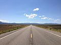 2014-08-09 11 03 53 View east on U.S. Routes 6 and 50 and south on U.S. Route 93 about 45.5 miles east of the Nye County line in White Pine County, Nevada.JPG