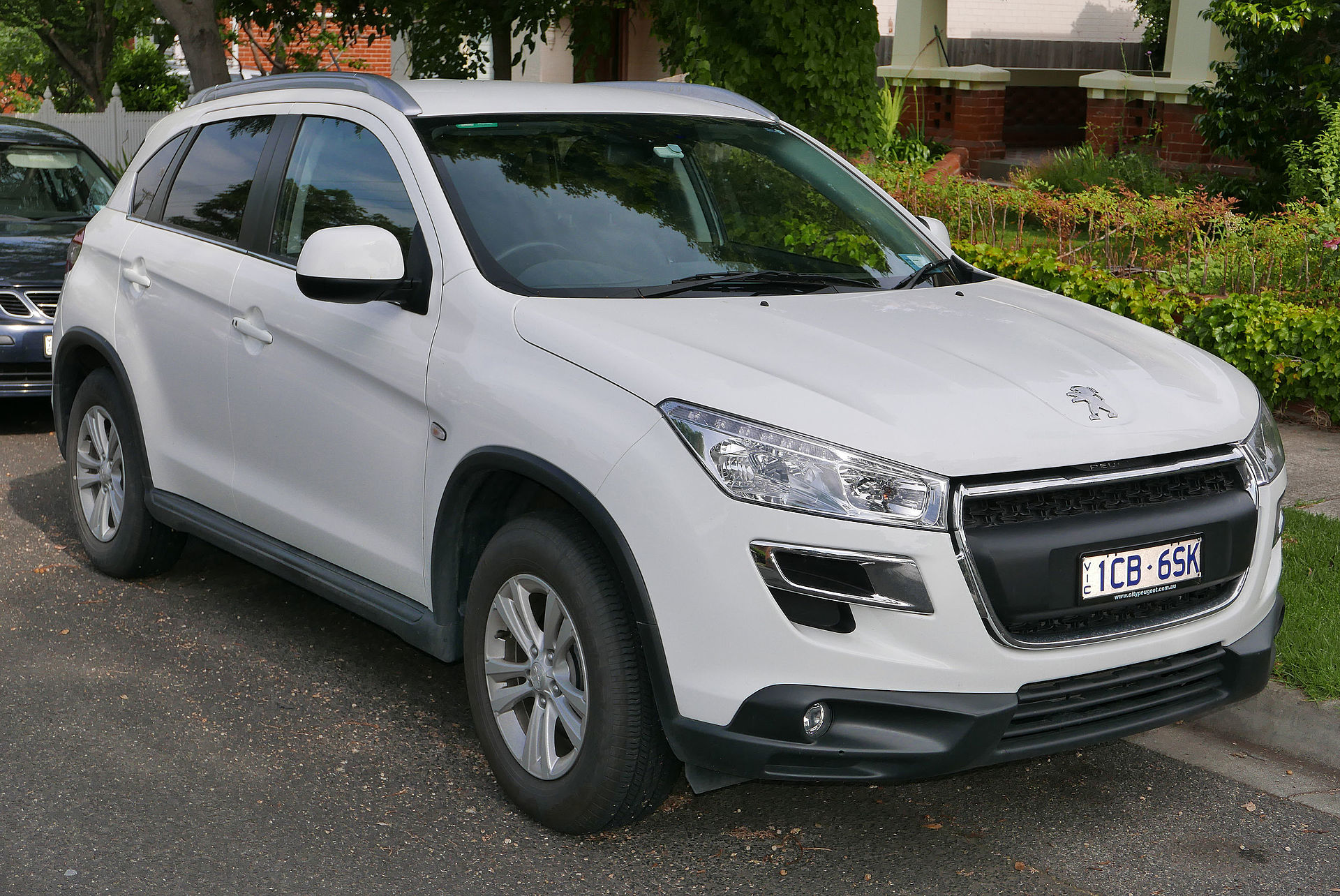 How To Drive Manual >> Peugeot 4008 - Wikipedia