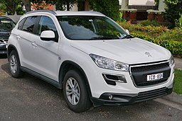 2014 Peugeot 4008 (MY14) Active wagon (2015-11-11) 01