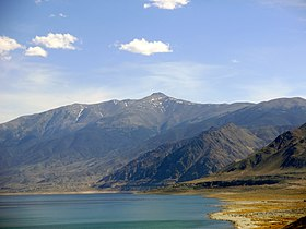 2015-04-29 15 55 39 View of Mount Grant, Nevada from the northwest side of Walker Lake color altered.jpg