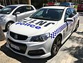 2015 Holden Commodore (VF) SV6 sedan, Western Australia Police (2017-02-18).jpg
