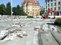 2016-08-27 road works at Berliner Platz (old concrete base).png
