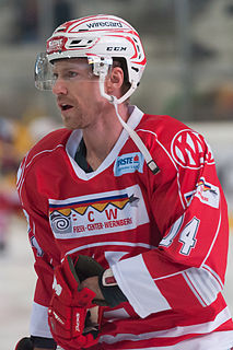 Jamie Lundmark Canadian ice hockey player