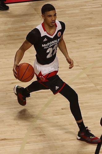 2016–17 Duke Blue Devils men's basketball team - Jayson Tatum, Duke
