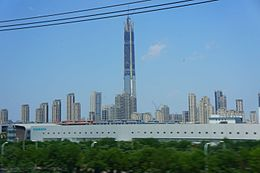 201606 Golden Finance 117 Tower under construction.jpg