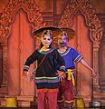 2016 Phnom Penh, Tradycyjny Kambodżański Pokaz Tańca (184).jpg