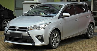 The third generation of Toyota Yaris