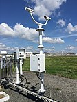 2017-06-06 10 45 14 Present weather sensor on the Automated Surface Observing System (ASOS) at Ronald Reagan Washington National Airport in Arlington County, Virginia.jpg