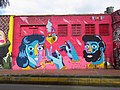 2017 Bogotá grafiti mural calle 24 Los Mártires.jpg
